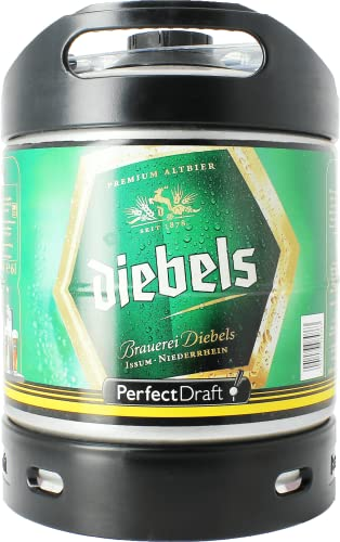 Diebels Brauerei Premium Altbier - 1 x 6000 ml Perfekt Draft