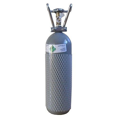 CO2 2KG Flasche gefüllt & FABRIKNEU! Kohlensäure TÜV 2022