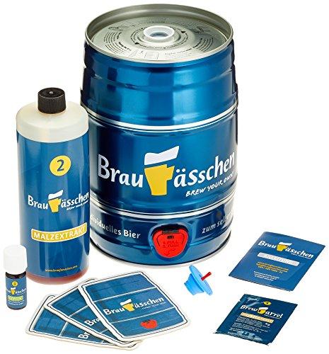Bierbrauset zum selber Brauen - Pilsbier im 5 L Bierfass - in 7 Tagen gebraut