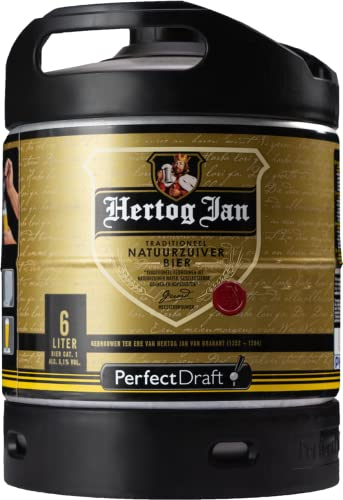 Jan Hertog Pilsener 6l Perfect Draft Fass (1 x 6l)