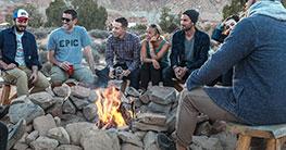 Mit Freunden auch unterwegs oder am Lagerfeuer ein kühles Bier genießen